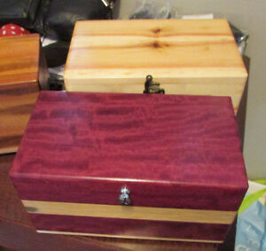 Urns...Homemade Wooden Boxes for Ashes Edmonton Edmonton Area image 2