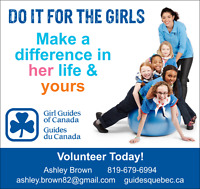 Girl Guide Leaders needed for Magog Unit!