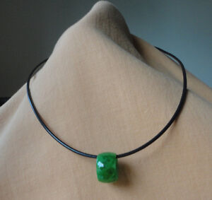 Jade Tube necklace