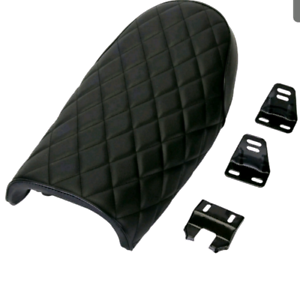 Cafe racer seat many models black brown