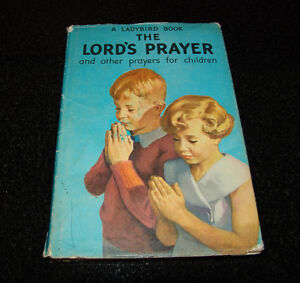 VINTAGE 1961 LADYBIRD BOOK THE LORDS PRAYER BOOK SERIES 6 12