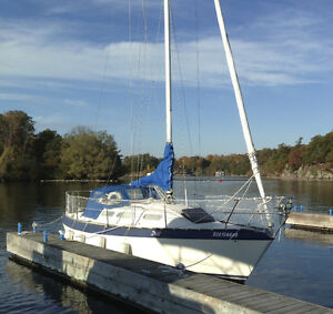 CS 27 Canadian Sailcraft 27'  Sailboat