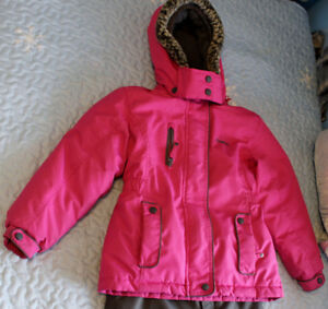 -SIZE 7 CARTER'S GIRL'S SNOW SUIT