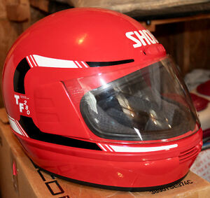 Classic Shoei Motorcycle Helmet