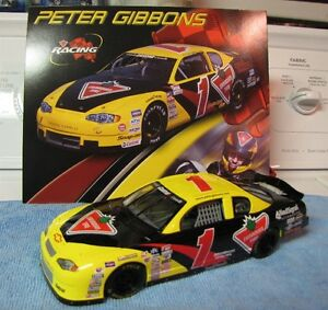 Peter Gibbons Race Car 1/18 scale. Comes with Stats Card. London Ontario image 1
