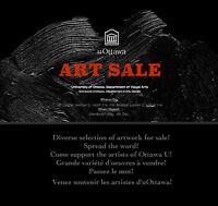 ART SALE AT OTTAWA UNIVERSITY