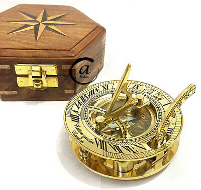 Thanksgiving Marina Astrolabe Sun-dial Clock Compass Table Thanksgiving Ornament