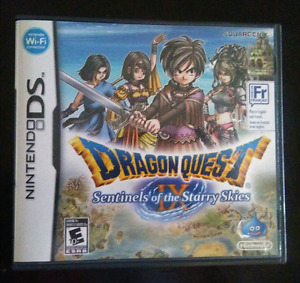 NINTENDO DS DRAGON QUEST IX SENTINELS OF THE STARRY SKIES