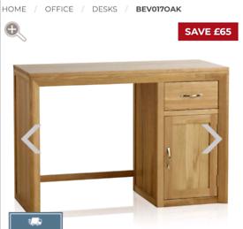 Oak desk £250 ono