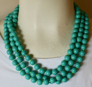 Stella and Dot La Coco Turquoise Bead Necklace