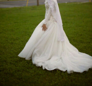 Beaded Ballroom Wedding Dress
