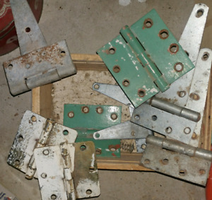 Assorted hinges