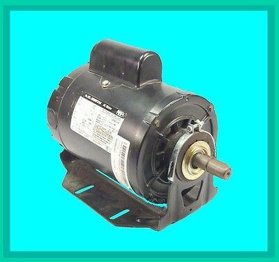 Motor, Single Phase, 115 / 209-230vac, 3/4 hp, Frame 56, Continuous (Quantity 1) - 115 Vac Single Phase Motor