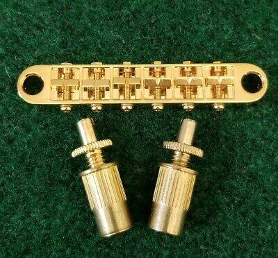 Tone Pros Chrome T3BP Locking Nashville Tunematic Guitar Bridge GB-2543-010