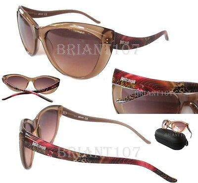 New Just Cavalli JC631S Womens Sunglasses Light Pink/Pink $125 + JC Case