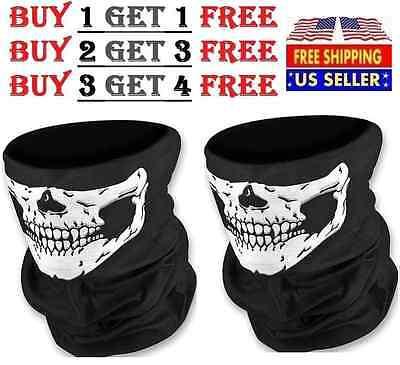 Skeleton Ghost Skull Face Mask Biker Balaclava Call Of Duty Cod Costume Game
