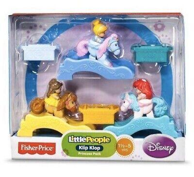 Fisher Price Little People Disney Princess Klip Klop 3-Pc Princess Pack