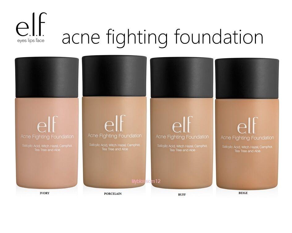 e.l.f. Acne Fighting Foundation NEW FULL SIZE elf Pick Ur Sh