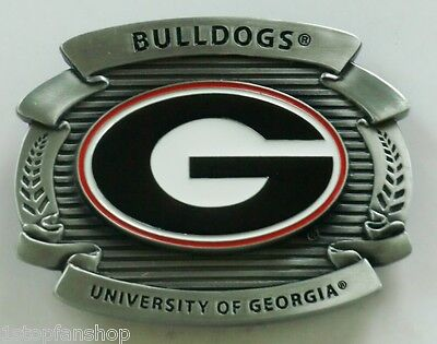 Georgia Bulldogs Buckle - Georgia Bulldogs Over-sized 4