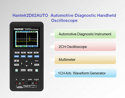 Hantek 2d82auto Oscilloscopeautomotive Diagnostic Testerdmmsignal Source Kiti