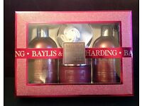 New Baylis & Harding midnight fig and pomegranate