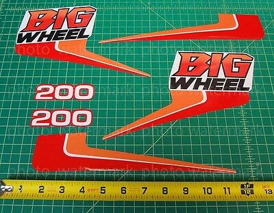 6pc Yamaha 1986 BW200 BIG WHEEL decals stickers graphics kit for sale  New Rochelle