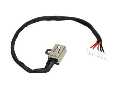 DC POWER JACK with CABLE HARNESS CHARGING PORT for DELL Inspiron 15 3000 -