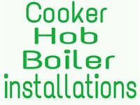 COOKER, HOB & BOILER INSTALLATIONS. GAS ENGINEER
