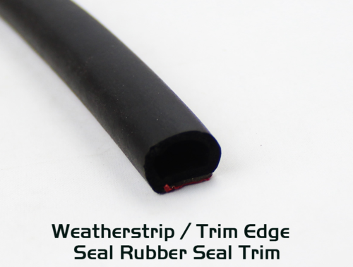 Car Parts - Weather Strip Car Parts Door Window Guard 16ft - Rubber Seal D-Shape Edge Trim