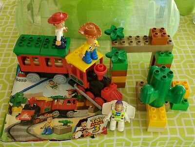Lego DUPLO Toy Story 3 #5659 The Great Train Chase w/Buzz Woody & Jesse COMPLETE