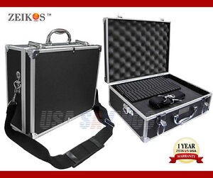 ALUMINUM HARD CASE ZEIKOS ZE-HC18 CARRY-ON COMPATIBLE