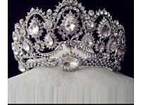 Silver and gold tiara