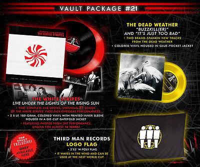 Jack White Stripes Third Man Records Vault 21 Dead Weather Vinyl Colored Flag