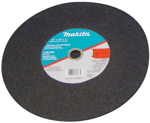 5 Pack Makita Chop Saw Metal 14-Inch Cut-Off Blade Cuts Steel Angle Iron Aluminu