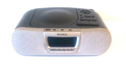Sony Dream Machine (ICF-CD830) Alarm Clock Radio/CD Player Excellent Condition