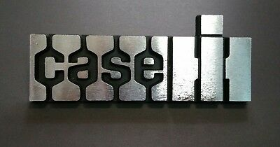 Case Ih International Harvester Tractor Emblem A181437 Solid Heavy All Metal