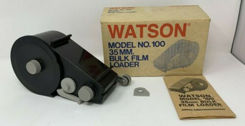 WATSON MODEL No. 100 35mm BULK FILM LOADER