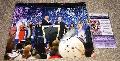 Vice President Mike Pence Signed 8X10 Photo Vp Donald Trump Maga Usa Jsa C