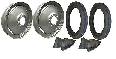 Front Rim Tire Set Ford Ferguson Tractor With 4 X 19 Tires