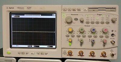 Keysight Agilent Hp 54825a Infiniium Oscilloscope - 2 Gsas 500mhz 4 Ch Qty