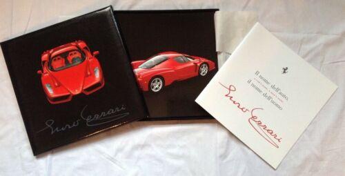Rare Enzo Ferrari Press Kit Box Set With CD 1846/02