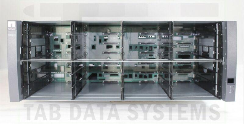 """NetApp DS4246 SAS 3.5"""" 24 Bay Shelf w/ Dual IOM6 X5713A-R6, Dual 580W PSU"""