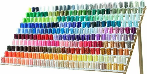 260 Spools Polyester & Embroidery Sewing Machine Thread set