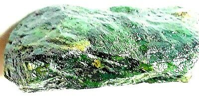 Imperial green jade .Natural .Rough .