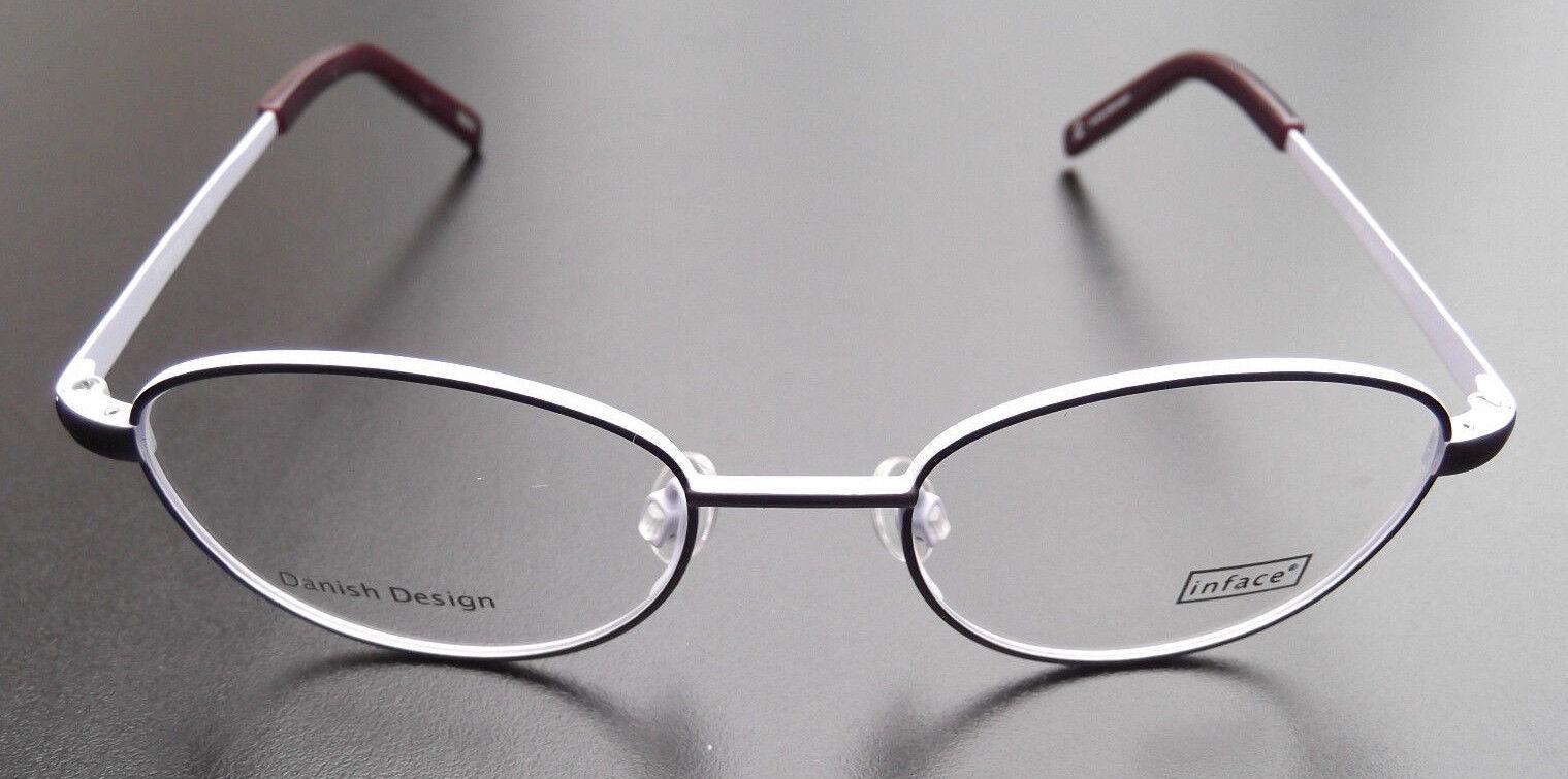 Inface Brillengestell IF 8807/335 violett/lavendel 43/16 - 125, Kinderbrille