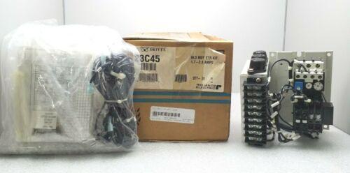 NEW RELIANCE ELECTRIC 23C45 DRIVES BLOWER MOTOR STARTER W/ ABB B9-30-10