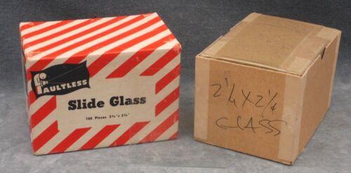 2-3/4 X 2-3/4 SLIDE GLASS, 150+ PIECES