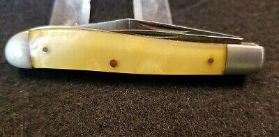 """HIBBARD SPENCER & BARTLETT USA REVERSE PEANUT PEN KNIFE - 2 3/4"""" LONG FOLDED"""