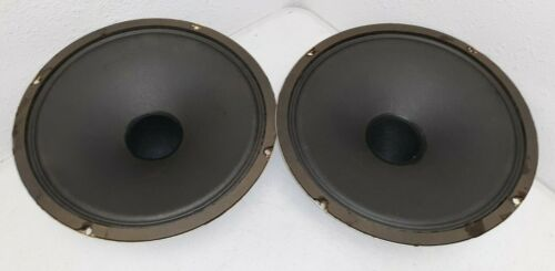 Pair of Vintage Ultralinear 100A Woofers 12 Inch C851A - Tested WORKS