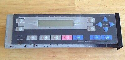 Graphtec Fc3212-90 Flatbed Cutter Control Panel Pr216012c